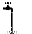 Water pipe vector | Price: 1 Credit (USD $1)