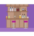 alcoholic and nonalcoholic vector image