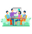 attraction capital business collaboration vector image