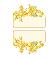 Business-card vector image vector image