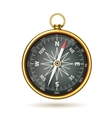 Compass Realistic Isolated vector image vector image