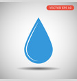 drop of blue color eps 10 vector image vector image