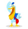 Pelican Postman vector image