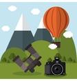 Camera gadget vector image