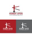 construction logo design vector image