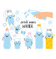 drink more water concept vector image
