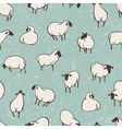 Herd of sheep Seamless pattern