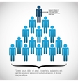 Infographic people design vector image vector image
