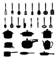 Kitchen Materials set vector image vector image