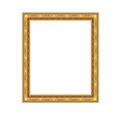 Picture ornate frame isolated on white background vector image