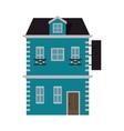 pretty house icon vector image