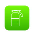 sprayer container icon green vector image vector image