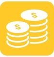 Stack of Coins vector image