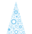 Unusual Christmas Tree vector image vector image