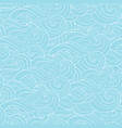 abstract cartoon blue white background wallpaper vector image vector image