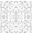 Abstract seamless hitech pattern vector image
