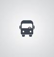 Bus theme logotype vector image