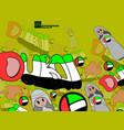 city dubai in united arab emirates the vector image vector image
