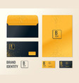 corporate identity layout templates for your vector image