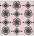 Handmade Crochet material pattern vector image