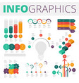 infographics design elements for business vector image vector image