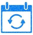 Refresh Calendar Day Grainy Texture Icon vector image vector image