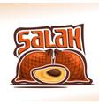 salak fruit vector image vector image