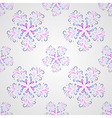 Seamless symmetric pattern with petals or drops vector image