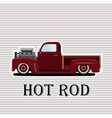 vintage car a isolated vector image