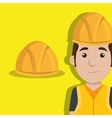 worker protection tools icon vector image vector image