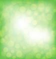 Abstrac green background vector image vector image