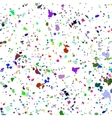 Abstract watercolour colorful spray background vector image vector image