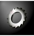 Circular Saw Wheel vector image
