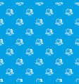 global time pattern seamless blue vector image vector image