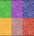 Karakusa seamless pattern vector image