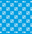 medical patch pattern seamless blue vector image vector image