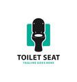 modern toilet seat product logo