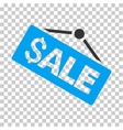 Sale Signboard Icon vector image