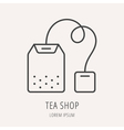 Tea One Logo 08 vector image vector image