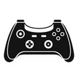 wireless gamepad icon simple style vector image vector image
