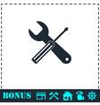 Repair icon flat vector image