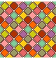 Glossy mosaic Abstract seamless background vector image vector image