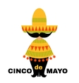 Mexican card vector image vector image
