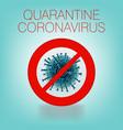 pandemic virus covid-19 virus wuhan stop sign vector image