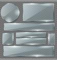 realistic mirror vector image vector image
