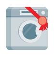Washing machine in Flat Design vector image vector image