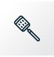 zester icon line symbol premium quality isolated vector image