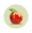 apple draw vector image