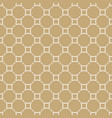 golden seamless abstract pattern in arabian style vector image vector image