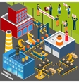 Humans Against Automation Industry vector image vector image